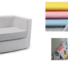 baby store in Canada - MONTE Monte Design Cubino Kids Loveseat Chair Ash
