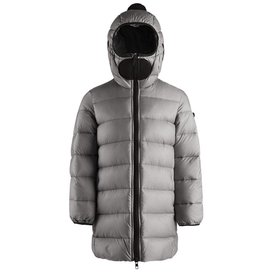 baby store in Canada - AI RIDERS AI RIDERS LONG DOWN JACKET NYLON RIPSTOP PORPOISE GREY