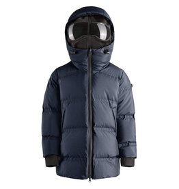 baby store in Canada - AI RIDERS AI RIDERS DOWN PARKA HOODED+FRONT DETACHABLE MASK DEEP BLUE