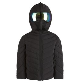 baby store in Canada - AI RIDERS AI RIDERS MAT DOWN JACKET MIRRORED BUILT-IN LENSES BLACK