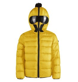 baby store in Canada - AI RIDERS AI RIDERS DOWN JACKET HOODED + LENSES SULPHUR YELLOW