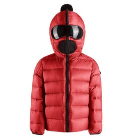baby store in Canada - AI RIDERS AI RIDERS DOWN JACKET NYLON SATIN BUILT-IN LENSES - BLOODY RED