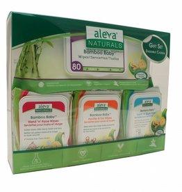 baby store in Canada - ALEVA ALEVA NATURALS WIPES GIFT SET