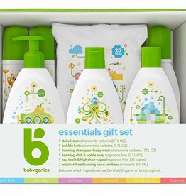 baby store in Canada - BABYGANICS BABYGANICS HERO ESSENTIALS GIFT SET