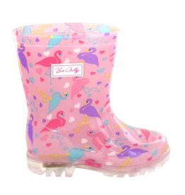 baby store in Canada - BE ONLY BE ONLY RAIN BOOTS CHILDREN FLAMINGO FLASH