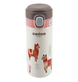 baby store in Canada - OUDON OUDON KIDS THERMAL WATER BOTTLE PINK