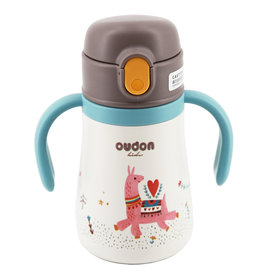baby store in Canada - OUDON OUDON KIDS THERMAL STRAW SIPPY BOTTLE MINT