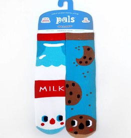 baby store in Canada - PALS SOCKS PALS MILK&COOKIES CROWDED TEETH MISMATCHED SOCKS
