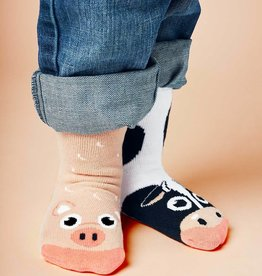 baby store in Canada - PALS SOCKS PALS COW & PIG MIMATCHED SOCKS