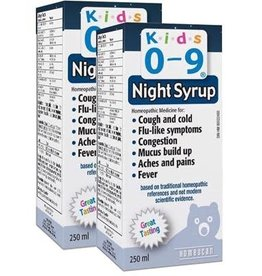 baby store in Canada - HOMEOCAN HOMEOCAN KIDS 0-9 COUGH AND COLD NIGHT SYRUP 250ml