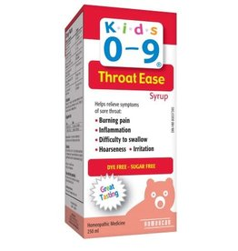 baby store in Canada - HOMEOCAN HOMEOCAN KIDS 0-9 THROAT EASE SYRUP 250ML