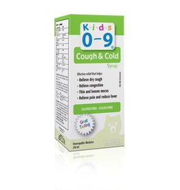 baby store in Canada - HOMEOCAN HOMEOCAN KIDS 0-9 COUGH AND COLD DAYTIME SYRUP 250ml