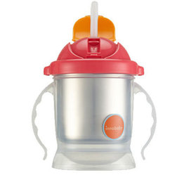 baby store in Canada - INNOBABY Innobaby Sippin'Smart Stainless Steel ez Flow Straw Cup 8oz with stainless steel insert, 10oz without insert