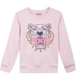 baby store in Canada - KENZO Kenzo Girls Light Pink Tiger Sweatshirt