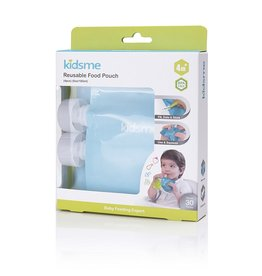 baby store in Canada - KIDSME KIDSME FOOD POUCH NATURAL 4PK