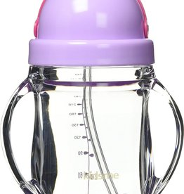 baby store in Canada - KIDSME KIDSME TRITAN TRAINING CUP WITH WEIGHTED STRAW
