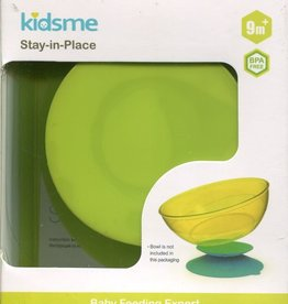 baby store in Canada - KIDSME KIDSME STAY-IN-PLACE PLACEMAT LIME