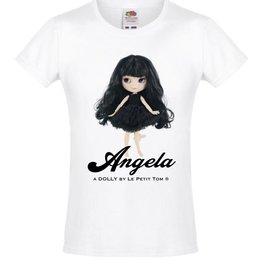 baby store in Canada - DOLLY DOLLY ANGELA T-shirt Angela doll black