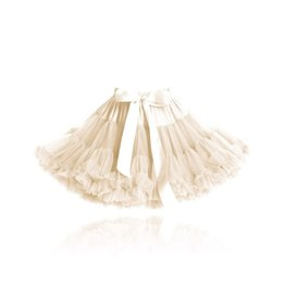 baby store in Canada - DOLLY DOLLY PRINCESS IVORY pettiskirt cream