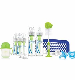 baby store in Canada - DR BROWN DR. BROWN'S OPTIONS+ BABY NARROW BOTTLES FIRST YEAR FEEDING GIFT SET