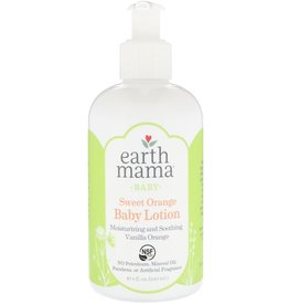 baby store in Canada - EARTH MAMA EARTH MAMA SWEET ORANGE BABY LOTION 8OZ