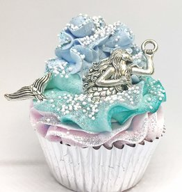 baby store in Canada - FEELING SMITTEN FEELING SMITTEN MERMAID LARGE CUPCAKE BATH BOMB (JASMINE & WATERLILY)