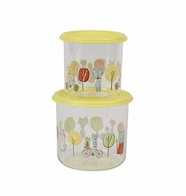 baby store in Canada - SUGAR BOOGER Sugarbooger Good Lunch Snack Containers Large, Go Kitty Go