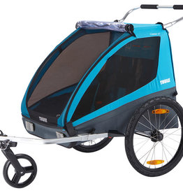 baby store in Canada - THULE THULE COASTER 2 WITH BIKE ATTACHMENT BLUE