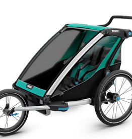 baby store in Canada - THULE THULE CHARIOT LITE BLUE GRASS/BLACK DOUBLE