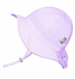 baby store in Canada - TWINKLEBELLE Twinklebelle Cotton Floppy Hat - Lavender Eyelet