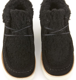 baby store in Canada - YOUNG SOLES YOUNG SOLES WALLABEE BOOT BLACK