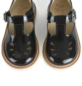 baby store in Canada - YOUNG SOLES Young Soles Rosie Patent Leather Black
