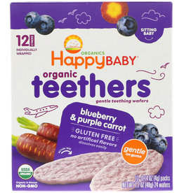 baby store in Canada - HAPPY BABY HAPPY BABY ORGANIC TEETHING WAFERS