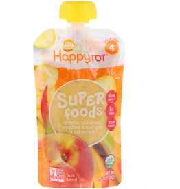 baby store in Canada - HAPPY BABY HAPPY BABY ORGANIC HAPPY TOT STAGE 4 POUCH