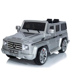 baby store in Canada - KOOL KARZ KOOL KARZ MERCEDES BENZ G55 AMG ELECTRIC RIDE ON TOY CAR SILVER