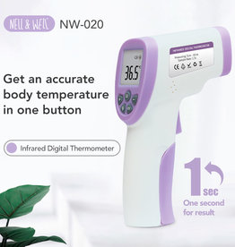 baby store in Canada - NELL & WELL NELL & WELL NO TOUCH + FOREHEAD THERMOMETER