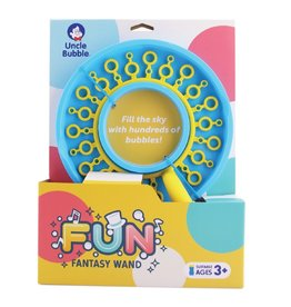 baby store in Canada - UNCLE BUBBLE UNCLE BUBBLE FUN FANTASY WAND WITH 40Z BUBBLE SOLUTION