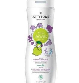 baby store in Canada - ATTITUDE ATTITUDE NATURAL SHAMPOO & BODY WASH 473ML
