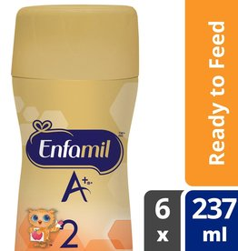 baby store in Canada - MEAD JOHNSON MEAD JOHNSON ENFAMIL A+ 2 BABY FORMULA, READY TO FEED BOTTLES 6 PACK, NIPPLE-READY