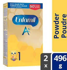 baby store in Canada - MEAD JOHNSON MEAD JOHNSON ENFAMIL A+ INFANT FORMULA STAGE 1 POWDER REFILL (992G)