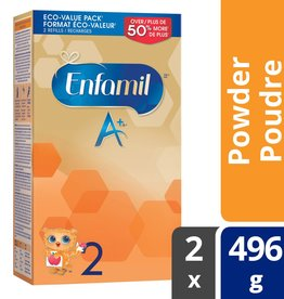 baby store in Canada - MEAD JOHNSON MEAD JOHNSON ENFAMIL A+ INFANT FORMULA STAGE 2 POWDER REFILL (992G)