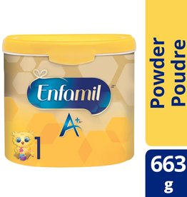 baby store in Canada - MEAD JOHNSON MEAD JOHNSON ENFAMIL A+ INFANT FORMULA STAGE 1 POWDER (663G)
