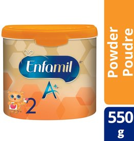 baby store in Canada - MEAD JOHNSON MEAD JOHNSON ENFAMIL A+ INFANT FORMULA STAGE 2 POWDER (550G)
