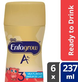 baby store in Canada - MEAD JOHNSON MEAD JOHNSON ENFAGROW A+ TODDLER NUTRITIONAL STAGE 3 READY TO DRINK 6 PACK