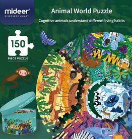 baby store in Canada - MIDEER ANIMALS AROUND THE WORLD PUZZLE