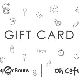 baby store in Canada - GIFT CARD $300