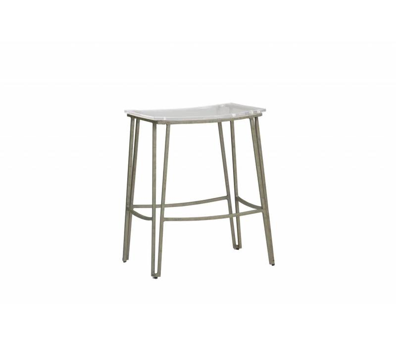 Pierce Counter Stool-Silver