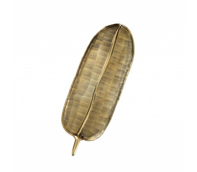 Golden Fern Tray Small