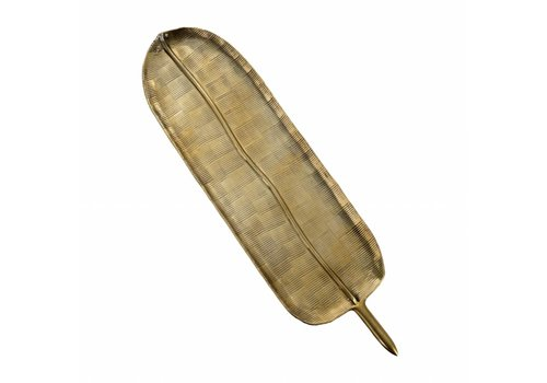 Golden Fern Tray L