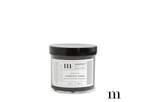 Mixture 13 oz Charcoal Scrub